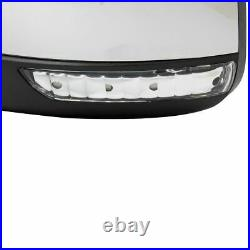 Mirror Power Heated Signal Blind Spot Chrome Driver LH for 11-13 Grand Cherokee