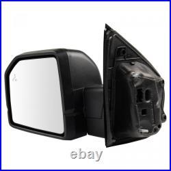 Mirror Power Heated Signal Blind Spot Spotlight Textured Black Left LH for Ford
