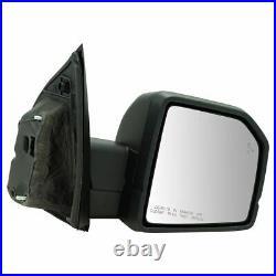 Mirror Power Heated Signal Blind Spot Spotlight Textured Black Right RH for Ford