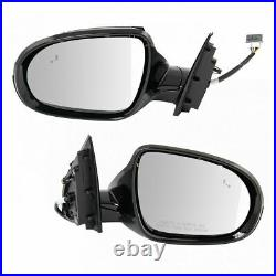 Mirror Power Heated Turn Signal Folding Blind Spot Paint to Match Pair for Kia