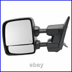 Mirror Power Heater Blind Spot Puddle Turn Signal LH for Titan