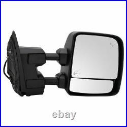 Mirror Power Heater Blind Spot Puddle Turn Signal RH for Titan