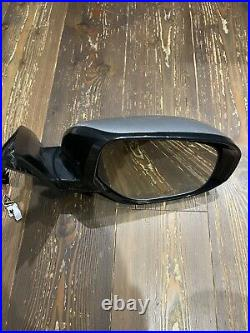 Mitsubishi Outlander 2013 2021 Front Drivers electric wing mirror Blind Spot