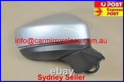 NEW DOOR MIRROR FOR MAZDA CX-5 2017 Onward With BlindSpot 9 Wires, SILVER