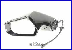 NEW GM CADILLAC ELR 2014-2016 BLACK LH MIRROR WithSIGNAL LIGHT/BLIND SPOT 22884929