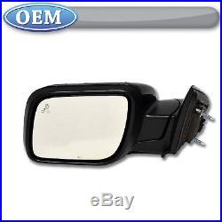 NEW OEM 2011-2013 Ford Explorer LEFT Mirror Blind Spot System UNPAINTED