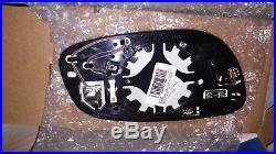 NOS 10-17 Ford Taurus Left Driver Mirror Glass Lens withBlind Spot Assembly