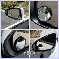 NRG Red/Black GEN 2.9 Steering Wheel Quick Release Adapter+Blind Spot Mirrors