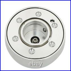 NRG SRK-201SL Version 2 Silver Quick Release Hub Lock+Blind Spot Mirror