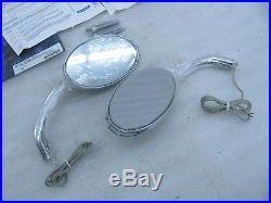 New Kuryakyn Blind Spot Turn Signal Mirrors 1499 Harley Davidson Softail Dyna &