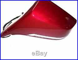 New OEM Cadillac ELR 2014-2016 RED LH Mirror With Signal Light/BLIND SPOT 22884931
