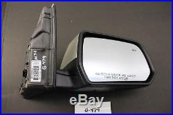 New Oem Gm Door Mirror Gmc Acadia 17 18 Blind Spot Memory Gold Gwt Rh