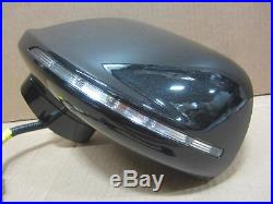 OEM 2010-2015 Lincoln MKT Driver Side View Mirror WithBlind Spot Tuxedo Black (UH)