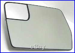 OEM 2011-2014 Ford F150 Left Glass Auto-Dim Blind Spot Driver Side Mirror