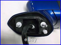OEM 2017 2018 2019 FORD FUSION PASSENGER SIDE MIRROR WithSIGNAL BLIND SPOT BLUE