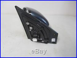 OEM 2017 KIA SPORTAGE LH LEFT DRIVER SIDE BLUE EXTERIOR MIRROR with BLIND SPOT