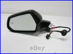 OEM 2019 2020 Chevrolet Chevy Camaro LH Driver Side Black Mirror Blind Spot
