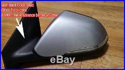 OEM Auto Folding Side Mirror Blind Spot LH 1ea 12Pin For 2015+ Hyundai Sonata