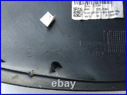 OEM MERCEDES C W205 S W222 E W213 MIRROR COVER left / BLACK / high gloss