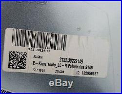OEM MERCEDES C W205 S W222 E W213 MIRROR COVER right. POLAR WHITE / 9149