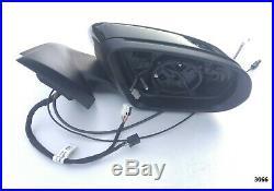 OEM MERCEDES GLC W253 COMPLETE MIRROR BLACK right HEAT/BLIND SPOT / CAMERA full