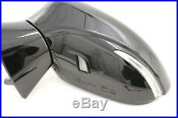 OEM POWER DOOR MIRROR LEXUS GS350 GS450H 13 2013 BLACK blind spot LH NICE