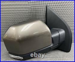 Oem 2015-2020 Ford F150 F-150 Right Door Mirror Led Blind Spot Power Fold