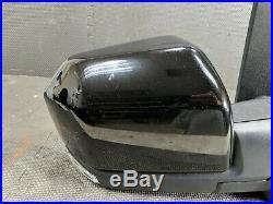 Oem 2015-2020 Ford F150 F-150 Right Door Mirror Led Blind Spot Power Fold Black