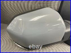 Oem 2015-2020 Ford F150 Right Door Mirror Loaded Camera Blind Spot Led Gray