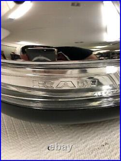 Oem 2019 2020 Dodge Ram Right Rh Side Chrome Power Led Blind Spot Side Mirror