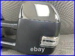 Oem 2021 Ford F150 Driver Loaded Camera Blind Spot Trailer Tow Door Mirror