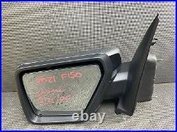 Oem 2021 Ford F150 Driver Side Loaded Blind Spot Door Mirror Chrome