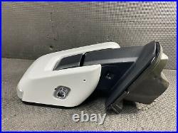 Oem 2021 Ford F150 Passenger Blind Spot Door Mirror Power Fold Oxford White