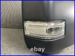 Oem 2021 Ford F150 Passenger Loaded Camera Blind Spot Trailer Tow Door Mirror