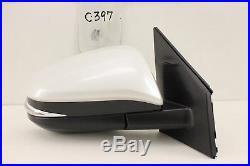 Oem Door Mirror Power Toyota Rav4 Rav 4 13-18 Power Signal Blind Spot White Rh