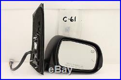 Oem Door Mirror Toyota Sienna Power Signal Memory Blind Spot 13-18 Champagne Rh