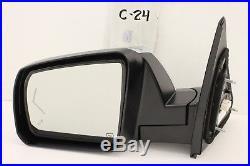 Oem Power Door Mirror Toyota Tundra 14-18 Auto DIM Blind Spot Lh Nice Chrome