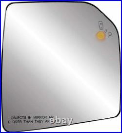 Passenger Side Mirror Assembly Blind Spot Sensor For 15-20 Ford F150 Glass BSDS