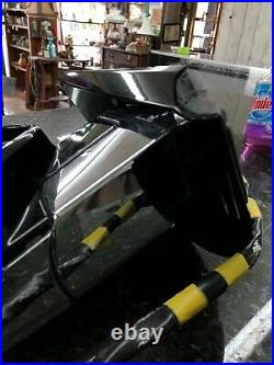 Power Fold Mirror Arrow Blind Spot 9-14 Escalade Yukon Tahoe Chrome DL3 Z75