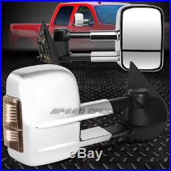 Power Heat Smoke Signal Towing +circle Blind Spot Mirror For 97-03 Ford F150