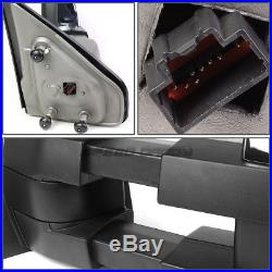 Power Heat Tow Mirror Side Led Signal+blind Spot Rectangle Convex For 04-14 F150