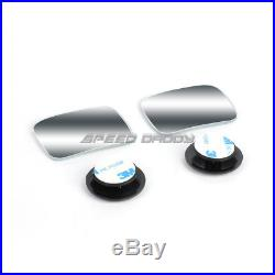 Power Heat Tow Mirror Side Led Signal+blind Spot Square Convex For 04-14 F150
