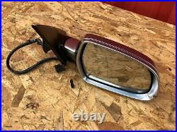 RIGHT SIDE DOOR MIRROR ASSEMBLY MANUAL FOLDING WithBLIND SPOT 09-15 AUDI A4 S4