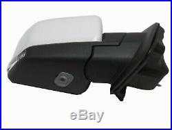 RR54WF Ford F150 Pickup Passenger Side Mirror Blind Spot Turn Signal Puddle