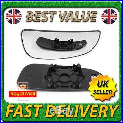 Right Bottom Lower Blind Spot Heated Wing Mirror Glass for CITROEN RELAY 2006+
