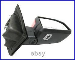SV5BRQ RH Side Mirror Blind Spot Camera Led Turn Signal 2015-20 Ford F150 Pickup