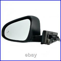 Side Mirror for TOYOTA C-HR 2018 2020 Blind Spot, Puddle Lamp Driver Left Side