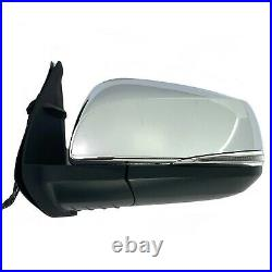 Side Mirror for TOYOTA TACOMA 16-20 with Blind Spot Turn Signal Chrome DRIVER LEFT