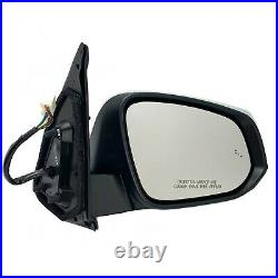 Side Mirror for TOYOTA TACOMA 16-20 with Blind Spot Turn Signal Chrome PASSENGER