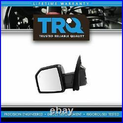 TRQ Mirror Power Folding Heat Signal Blind Spot Memory Camera Spot LH for F150